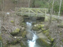 Bridge along Black Rock Lake Trail (.85 miles).