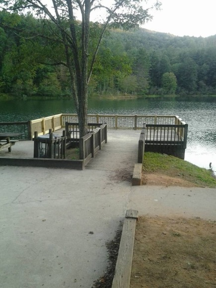Fishing Deck at Black Rock Lake