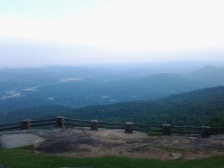 Black Rock Mountain Main Overlook.