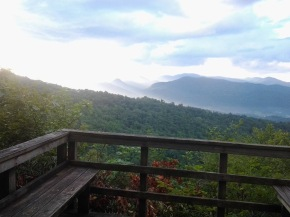 Nantahala Overlook, near the campground area.