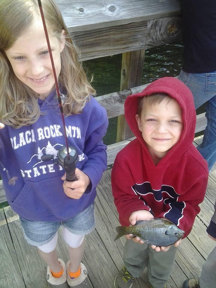 Fishing at Black Rock Mountain State Park