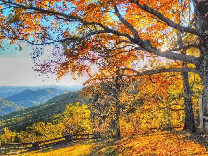 Fall at Black Rock Mountain State Park