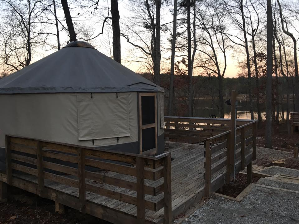 Yurts at the Park